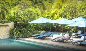 watermark hotel bali poolside
